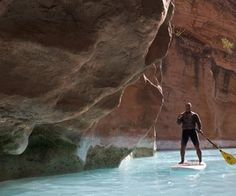 Standup Paddleboard Through the Grand Canyon