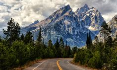 A Road to the Peaks by Jeff Clow on 500px