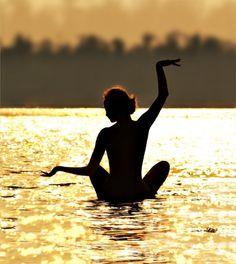 #yoga #lotus #water