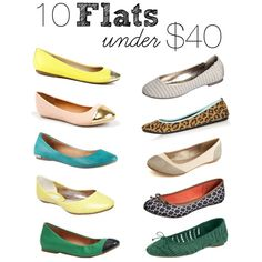 10 flats under $40