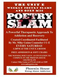 Phoenix House Poetry Slam