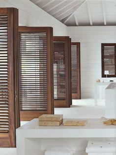 interior design, window shutters, the doors, dream, interiors, beach houses, white rooms, interior architecture, island living