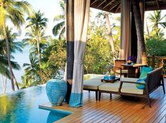 Room With a View : Condé Nast Traveler  Four Seasons Resort Koh Samui
