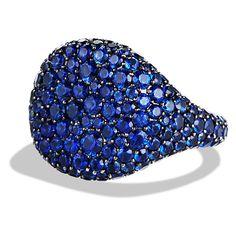 david yurman, white gold, azul royal