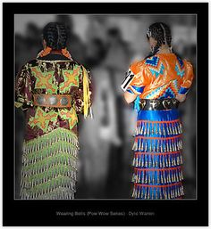 Jingle Dress dancers.  Photo by Dyle Warren