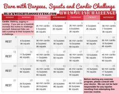 2014 challeng, cardio challeng, squat challenge, burpe, juli challeng