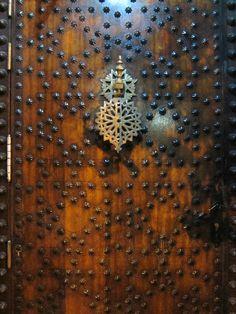 Door at La Almounia Restaurant in Madrid