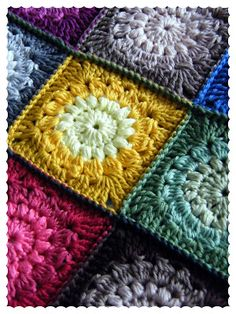 Puffs and Clusters at http://hookandbake.blogspot.co.uk