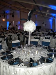 Osage Casinos: Roaring 20's themed VIP Event  Décor provided by Party Pro Rents (Tulsa, OK).