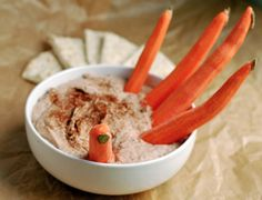 Hummus with Carrot Fingers | Babble