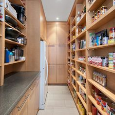 Pantry Shelving Design Ideas, Pictures, Remodel and Decor