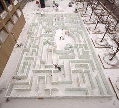 World Record Ice Maze!