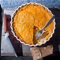 Grapefruit Custard Pie with a Saltine Pie Crust | Tasting Table
