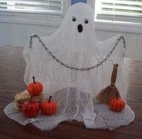 Cute cheesecloth ghost.