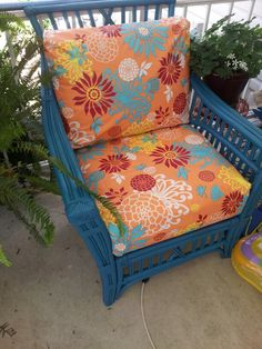 Recover patio furniture with tablecloth