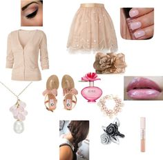 Girly girl, created by harystyles on Polyvore