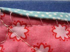Ladder Stitch Binding by craftapple, via Flickr