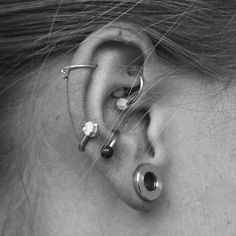 My left ear is running out of room, but these would look so cute on my right ear!