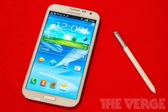 Galaxy Note II - 5.5-inch screen and Android Jelly Bean