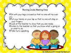 classroom idea, morning meetings, management tips, kindergarten class, classroom procedur, classroom management, manag poster