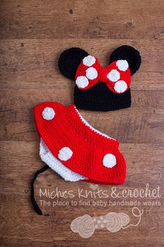 Minnie Mouse Crochet Outfit