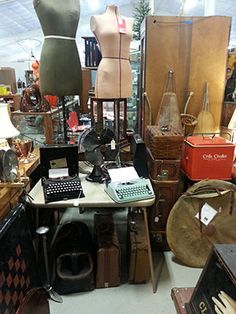 Coxsackie Antique Center: With 100 dealers spanning 15,000 square feet, this CL fave sells everything from industrial cabinets to estate jewelry at decent prices. For even cheaper (if less curated) goods, drive seven miles north to Leisure Time Flea Market in Ravena.