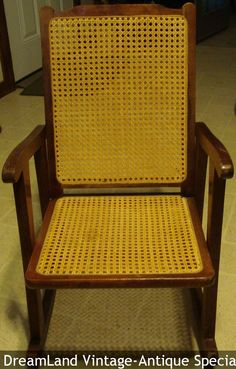 Childs rocker cane