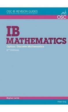 A practical student revision guide that specifically covers the HL Math topic that includes worked examples, questions and self-tests. ISBN: 9781907374623