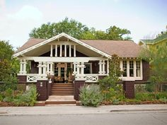 Gorgeous Porch - Boost Your Curb Appeal With a Bungalow Look on HGTV