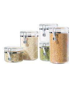 canister set with spoons. like it