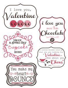 14 Days of Valentines + Free Printables