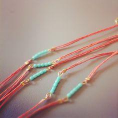 The Small Things Blog: New Bracelet Design