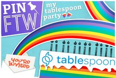 @tablespoon's Pinterest sweeps  #PinFTW!
