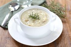 Potato Rosemary Soup Recipe on twopeasandtheirpod.com We make this soup ALL of the time! It is easy and SO good! #soup