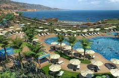 Terranea ....... With waves crashing and dolphins swimming by right below the pool..... Heaven.
