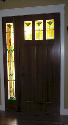 Rooms to Go Mission Style | Mission Style Home With Stained Glass With An Impact