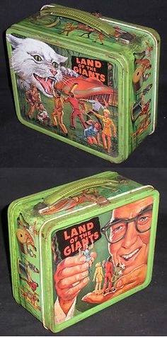 Land of the Giants Vintage Metal Lunchbox Aladdin Industries 1968