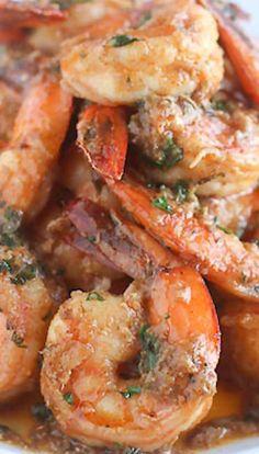 Cajun Buttery Herb Shrimp