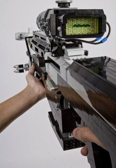SRS 99 Anti-Matériel sniper rifle from Halo: Reach - made out of LEGOS!