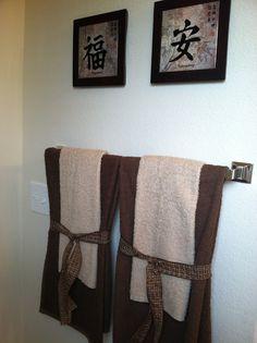 Bathroom hacks on pinterest bathroom toilet paper and for Bathroom decor hacks