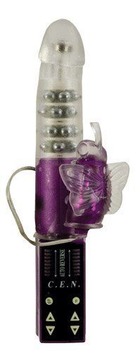 California Exotics Mystic Butterfly Stimulator by California Exotic Novelties. $48.02. Soft and supple massager with 4-rows bi-directional rotating beads, 8 levels of vibration, pulsation.. Save 62% Off!