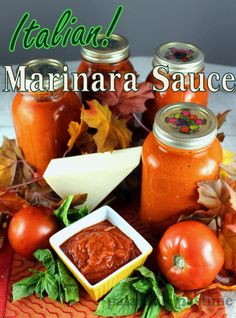 Method for making your own delicious marinara from scratch, including a canning method!