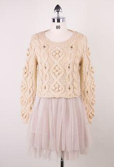 Retro Cozy Up Woolen Sweater