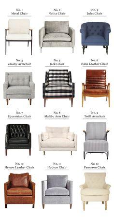 Chair round up
