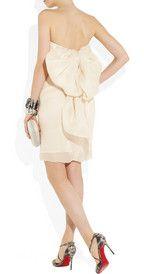 Lanvin  Bow-embellished silk-gazar dress  €3,500