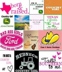 country girls will survive!! ;)