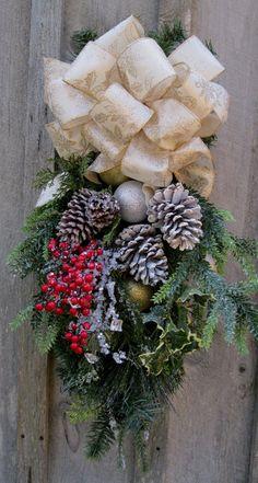 Christmas Wreath Holiday Swag