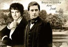 Mr. Darcy & Mr. Thornton