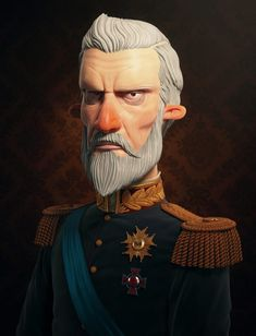 King - 3D character design