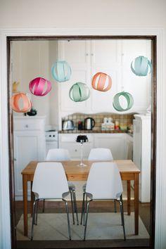 DIY: Pretty Paper Party Balls
